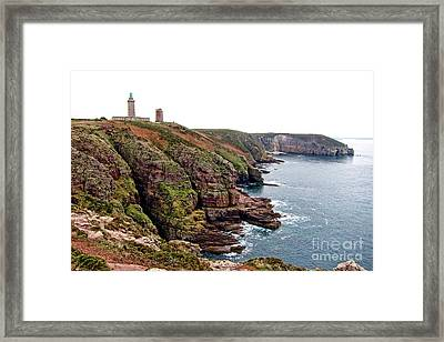 Cap Frehel In Brittany France Framed Print by Olivier Le Queinec