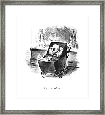 Cap Trouble Framed Print by William Steig