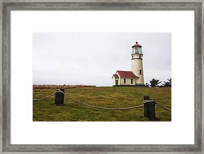Cape Blanco Lighthouse Framed Print