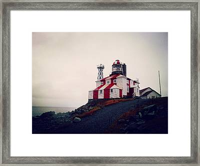 Cape Bonavista Lighthouse Framed Print