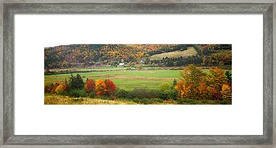 Cape Breton Highlands Near North East Framed Print by Panoramic Images