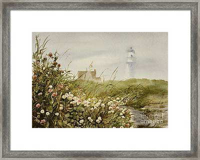 Cape Clover Framed Print