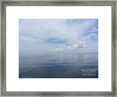 Cape Cod Bay Framed Print by Lisa  Marie Germaine