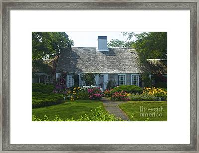 Cape Cod Cottage Framed Print