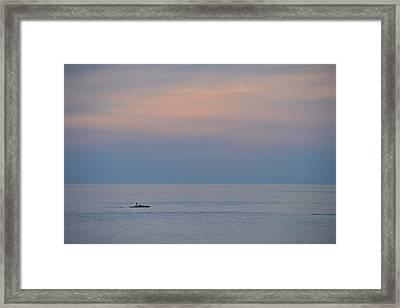 Cape Cod Dusk Framed Print