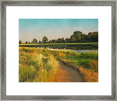 Cape Cod Eastham Eventide Number Two Framed Print