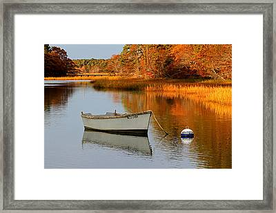 Cape Cod Fall Foliage Framed Print