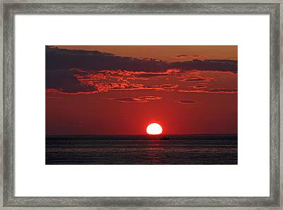 Cape Cod Fishing Framed Print by Juergen Roth