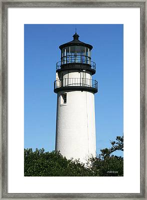 Cape Cod Highland Lighthouse Framed Print by Michelle Wiarda