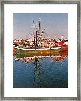Cape Cod II Framed Print by Suzanne Gaff