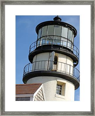 Framed Print featuring the photograph Cape Cod Lighthouse by Ira Shander
