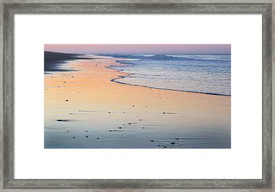 Cape Cod National Seashore Sunset Framed Print