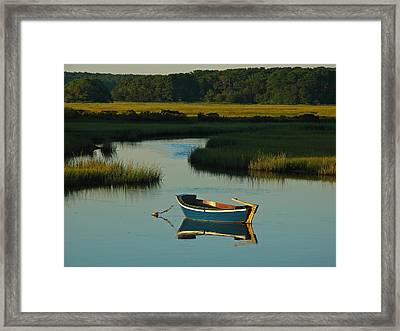 Cape Cod Quietude Framed Print by Juergen Roth