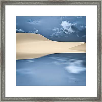 Cape Cod Reflections Framed Print by Bob Orsillo