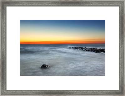Cape Cod Sunrise Framed Print