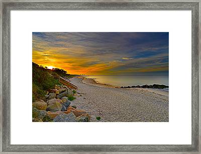 Cape Cod Sunrise #1 Framed Print