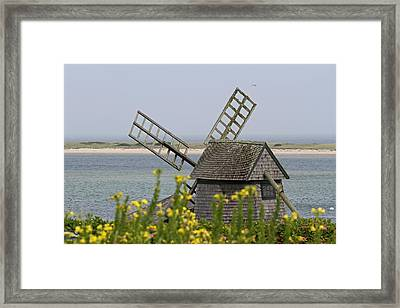 Cape Cod Windmill Framed Print by Juergen Roth