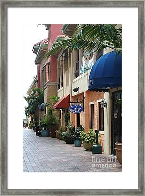 Cape Coral Framed Print by Rosemary Aubut