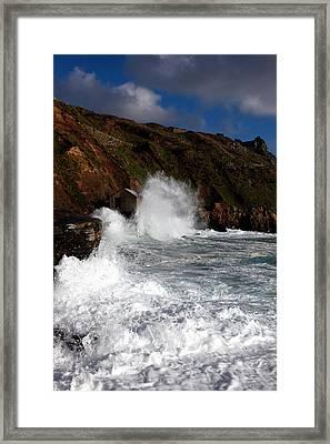 Cape Cornwall Framed Print