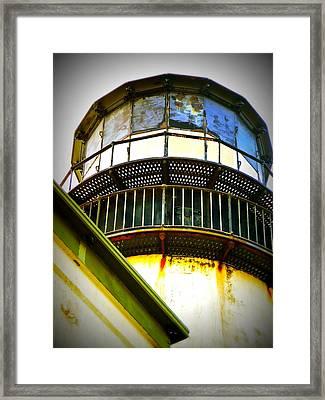 Cape D Lantern Tower Vertical Framed Print