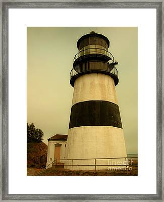Framed Print featuring the photograph Cape Disappointment Lighthouse II by Susan Parish