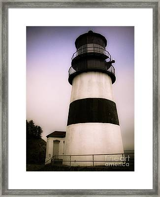 Framed Print featuring the photograph Cape Disappointment Lighthouse by Susan Parish