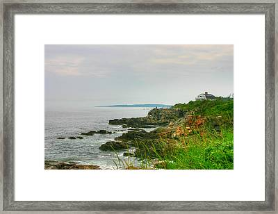Cape Elizabeth Maine Framed Print