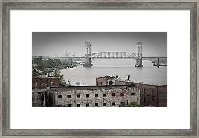 Cape Fear River - Photography By Jo Ann Tomaselli Framed Print