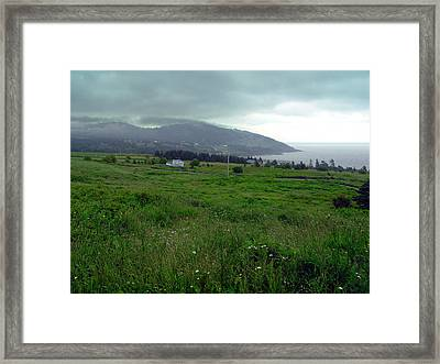 Cape George Nova Scotia Framed Print by Janet Ashworth