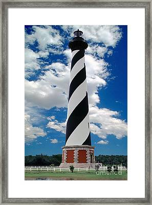 Cape Hatteras Light Station Framed Print by Wernher Krutein
