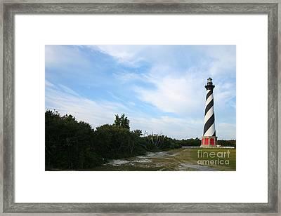 Cape Hatteras Lighthouse Framed Print by Suzi Nelson