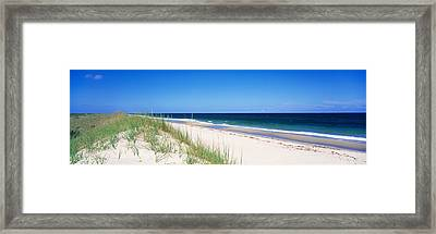Cape Hatteras National Park, Outer Framed Print by Panoramic Images