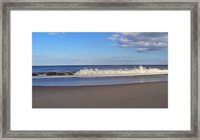 Cape Henlopen 10 Framed Print by Cynthia Harvey