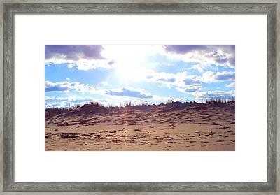 Cape Henlopen 11 Framed Print by Cynthia Harvey