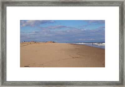 Cape Henlopen 8 Framed Print by Cynthia Harvey