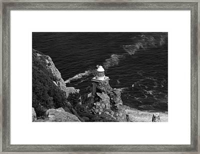 Cape Lighthouse Framed Print by Aidan Moran