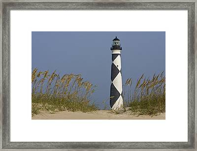 Cape Lookout Lighthouse Framed Print by Bob Decker
