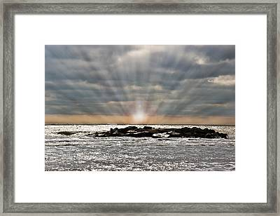 Cape May After The Storm Framed Print by Tom Gari Gallery-Three-Photography