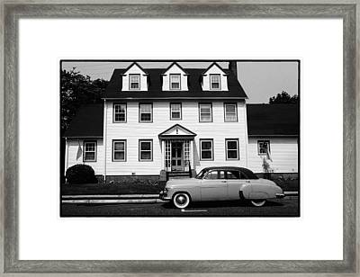 Cape May Anno 1950 Framed Print by George Oze