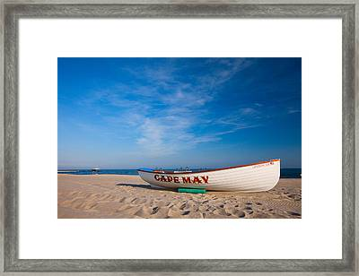 Framed Print featuring the photograph Cape May by Brad Brizek