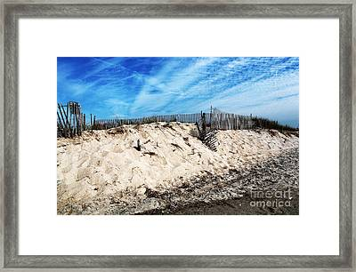 Cape May Dunes Framed Print
