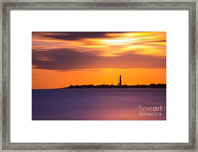 Cape May Lighthouse Long Exposure Framed Print by Michael Ver Sprill