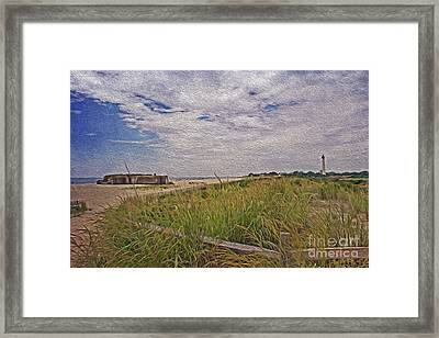 Cape May Nj Summer Time Framed Print