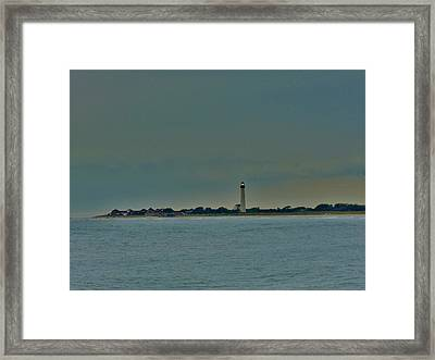 Cape May Point Framed Print by Ed Sweeney
