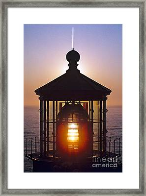 Cape Meares Lighthouse Framed Print by Douglas Taylor