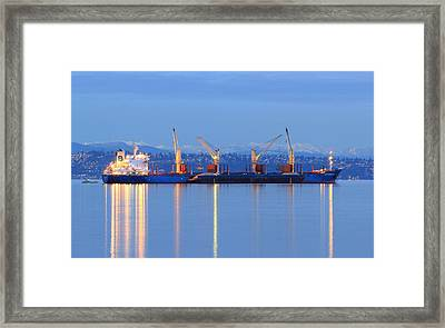 Framed Print featuring the photograph Cape Moreton by E Faithe Lester