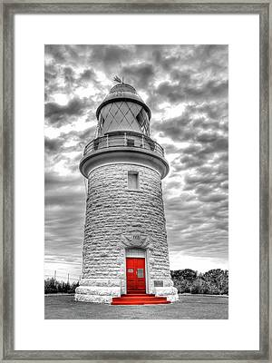 Cape Naturaliste Lighthouse Framed Print by Geraldine Alexander