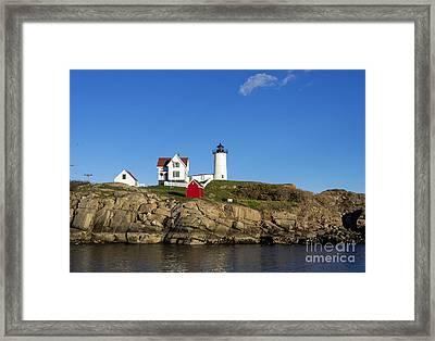 Cape Neddick Light Framed Print by John Greim