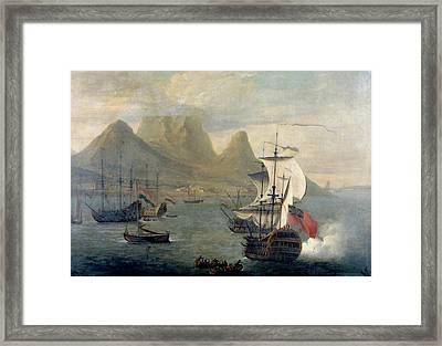 Cape Of Good Hope Framed Print by British Library