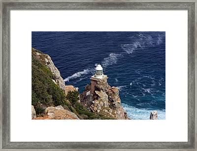 Cape Of Good Hope Lighthouse Framed Print
